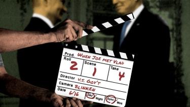 President Biden and Vladimir Putin.