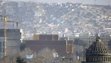 The U.S. Embassy in Kabul.