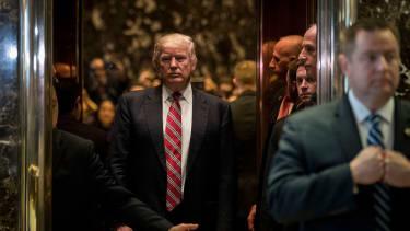 Donald Trump at Trump Tower.