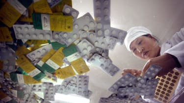 Guilin Pharmaceutical worker