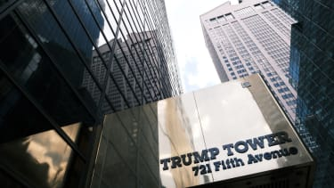 The outside of Trump Tower.