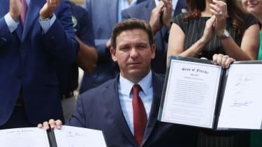 Florida Gov. Ron DeSantis.