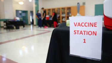 Vaccination site.