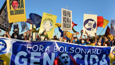 Anti-Bolsonaro protest