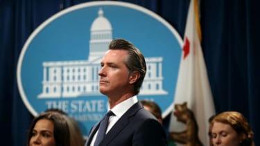 California Gov. Gavin Newsom.