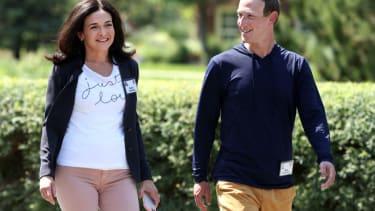 Mark Zuckerberg, Sheryl Sandberg