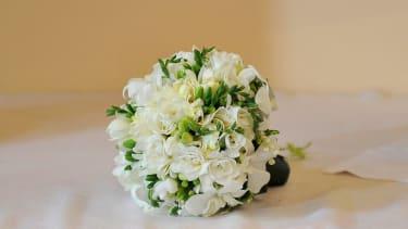 A wedding bouquet.