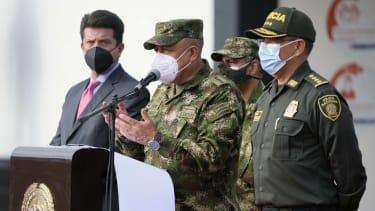 Colombian Armed Forces Commander Gen. Luis Fernando Navarro.