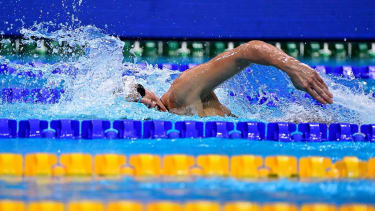 Polish swimmer Alicja Tchorz.