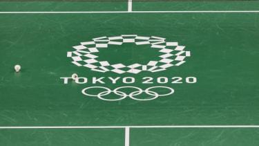 The Tokyo Olympics logo.