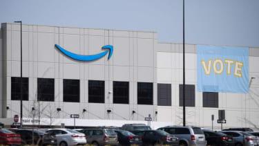 The Amazon warehouse in Bessemer, Alabama.