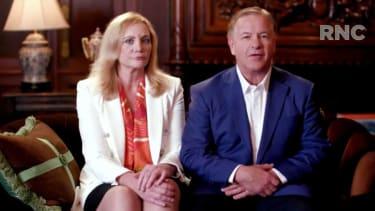 Patricia and Mark McCloskey.
