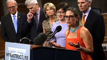 Senate infrastructure negotiators