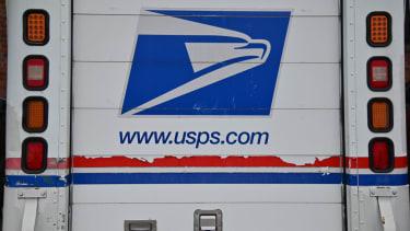 USPS truck.