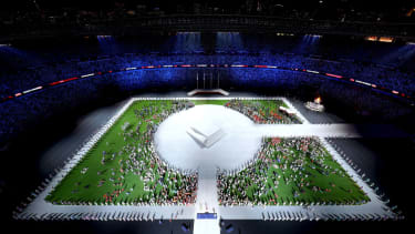 Olympics closing ceremony.