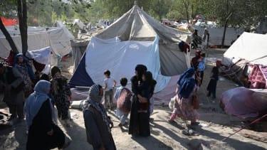 Internally displaced Afghans.