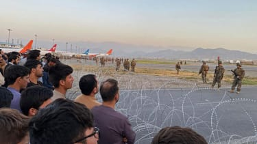 Leaving Taliban-controlled Kabul