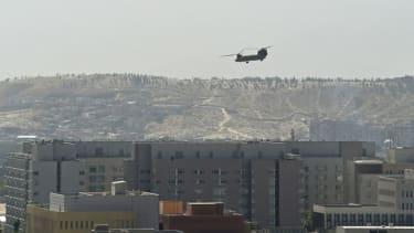 U.S. embassy evacuation in Kabul.