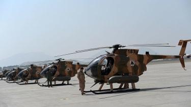 Afghan pilot.