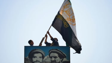 Afghan men in Panjshir.