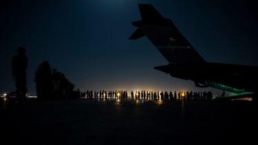 Kabul evacuation.