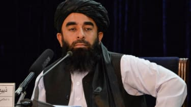 Zabihullah Mujahid.