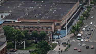 Hunan market in Wuhan.