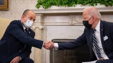 Naftali Bennett, Joe Biden.