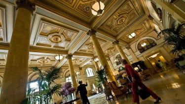 Willard Intercontinental Hotel.