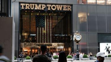 Trump Tower in Manhattan.