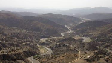 A road through Afghanistan.