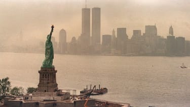 The Twin Towers in 1986.