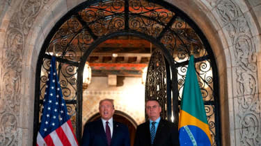 Trump and Bolsonaro.