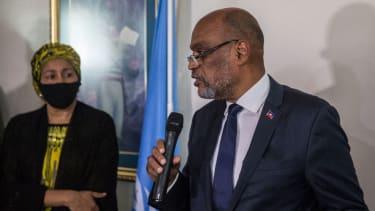 Haitian Prime Minister Ariel Henry.