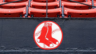 The Boston Red Sox logo.