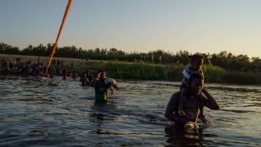 Haitian migrants at southern border.