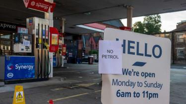 Gas shortage in the U.K.