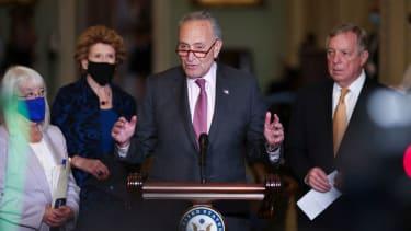 Senate Majority Leader Chuck Schumer.