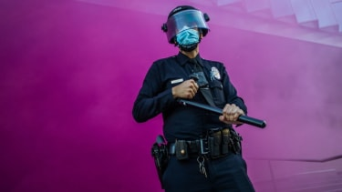 An LAPD officer.