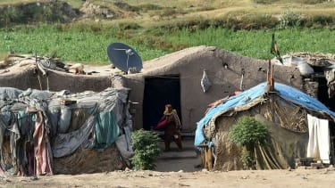 A mud home in Pakistan.