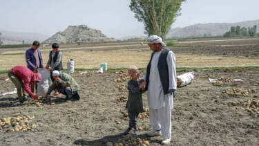 Farmers in Afghanistan.