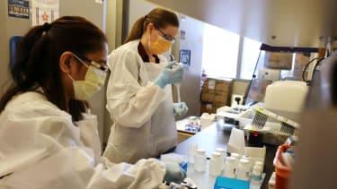 Medical lab scientists.