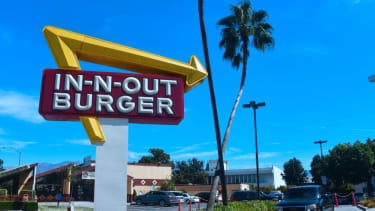 An In-N-Out restaurant.