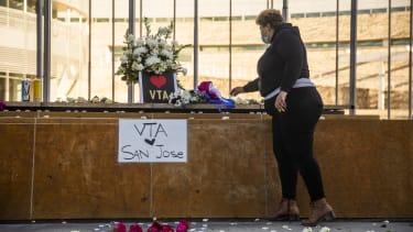 A memorial in San Jose