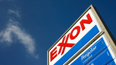 An Exxon station.