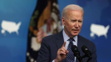 Biden speaks at the White House