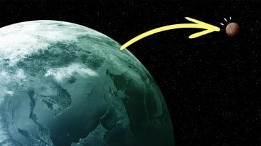 Earth to Venus.