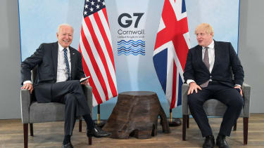 Biden and Boris at G7