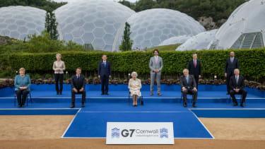 G7 leaders.