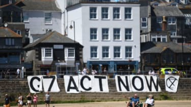 G7 summit in Cornwall.